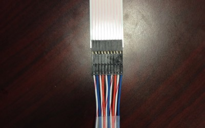 Discrete wire to flat cable