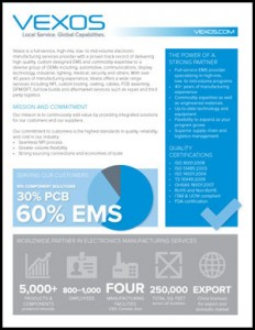Vexos Fact Sheet