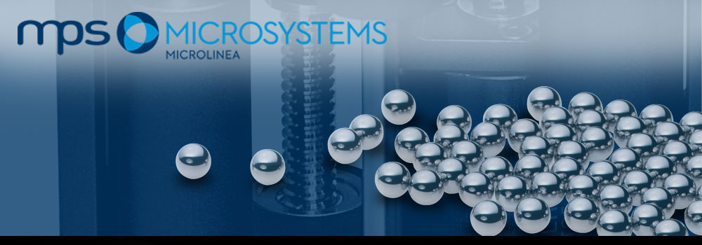 Linear bearings and ball screws by MPS Microsystems
