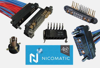 Nicomatic Connectors Manufacturing in MA