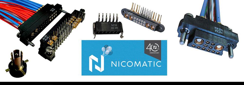 NICOMATIC: PCB Connectors | Underwood Sales Corp